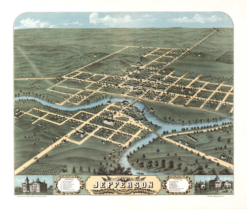 jefferson map